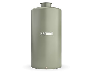 1500 L Fiberglass Storage Tank