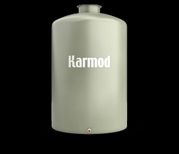 3000 L Fiberglass Storage Tank