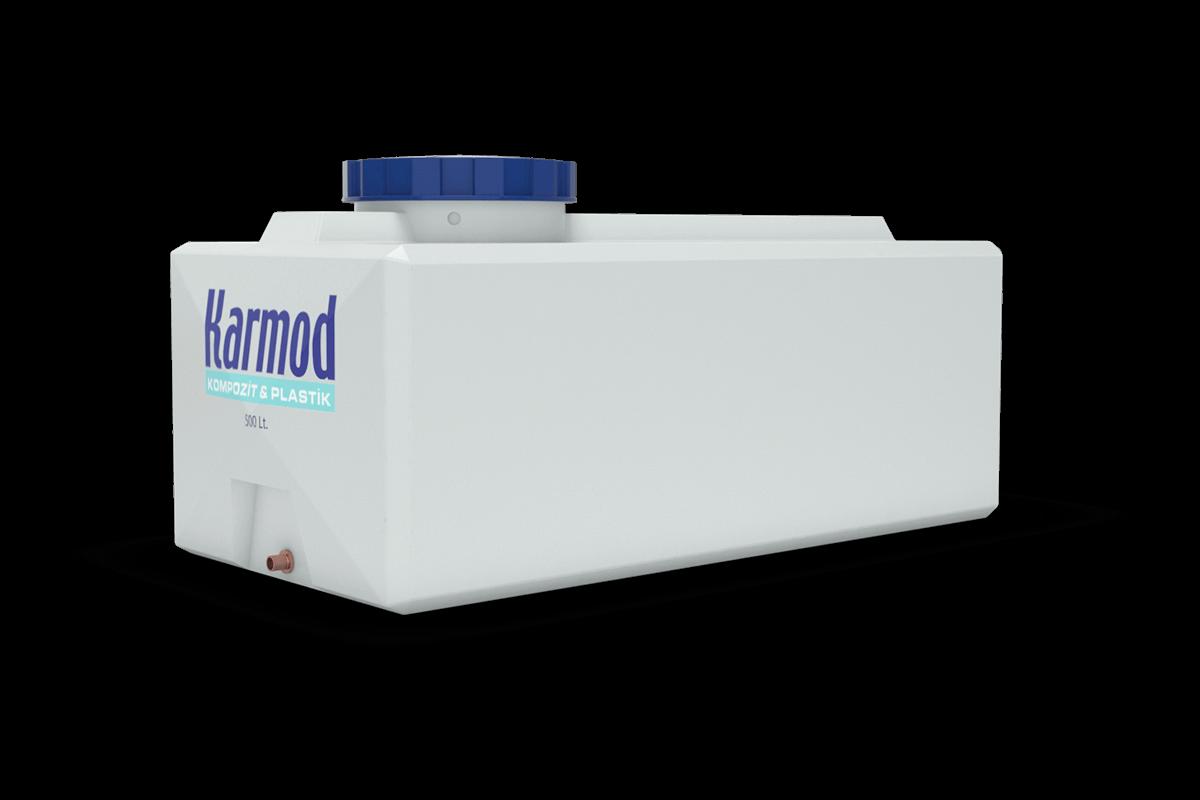 rectangular plastic water tank 500 liters