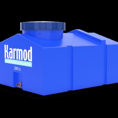 rectangular water tank 200 liters